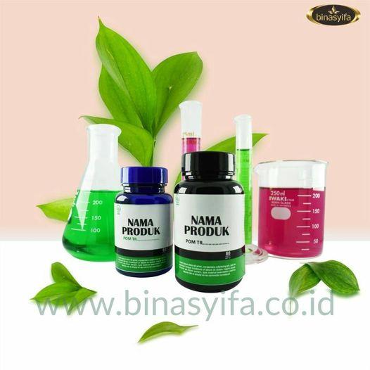 Jasa Maklon Obat Herbal dan Suplemen Herbal BPOM dan Halal MUI